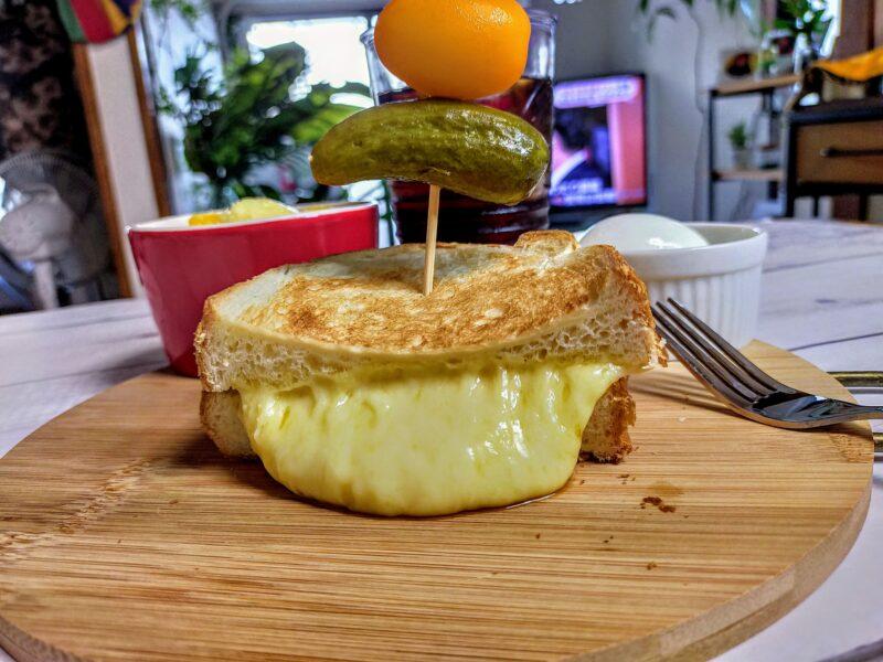 チーズサンドの完成写真