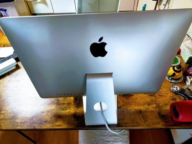 ジモティーで売却するパソコンの後ろ側