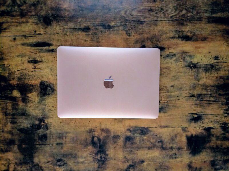 現在使用しているMacBook